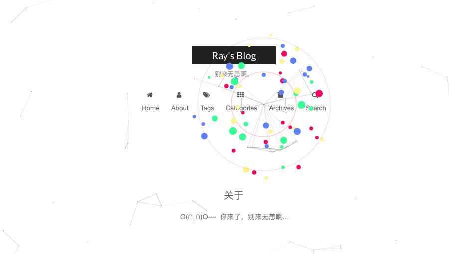 Hexo nexT 主题设置鼠标点击动画 | Ray's Blog